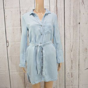 Chelsea & Violet Button-down Chambray Dress